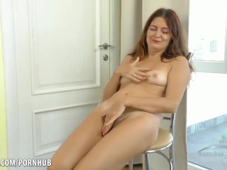 Small breasted mature woman tube