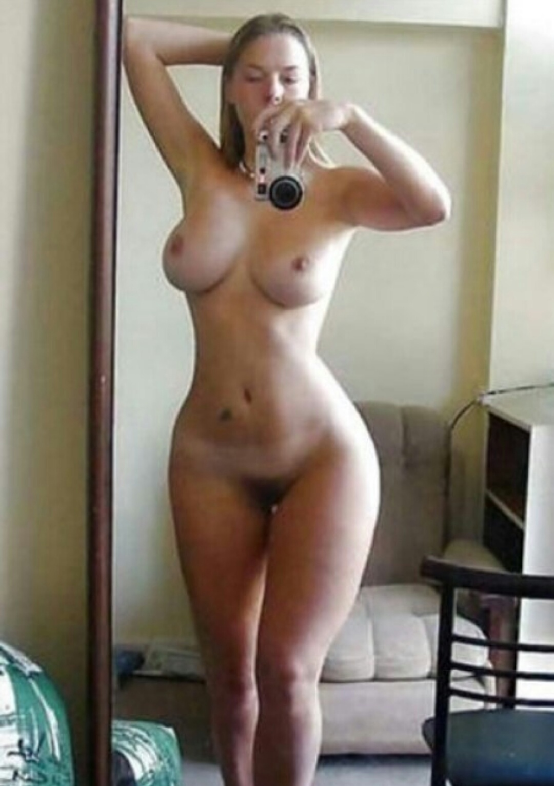 Slim and stacked girls with big tits